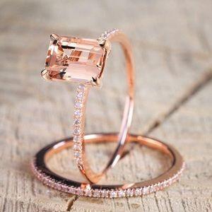 Jewelry - NEW Rose Gold Midi Ring Set